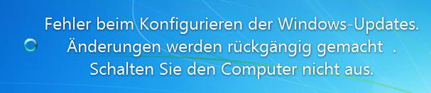 Update-Problem Windows